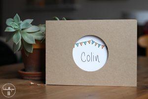 Carnet premiers souvenirs, Colin