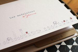 Carnet de recettes «Les madeleines de Julianne»