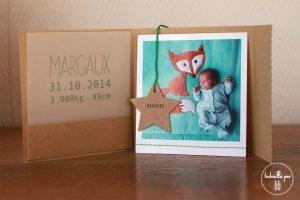 Faire-part pochette Margaux