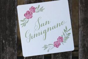 Nom de table Toscane