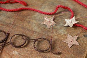 Guirlande P'tit loup – étoiles et paillettes